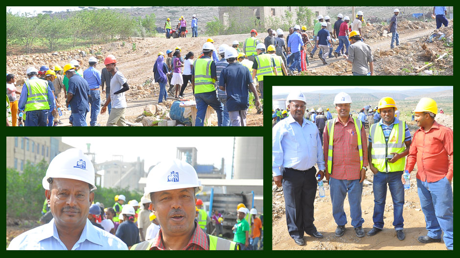 NCSC Employees Tree Planting Activity